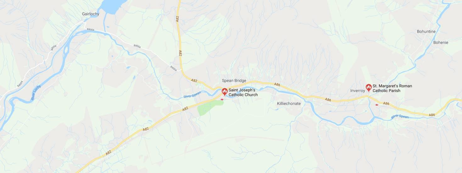 Google Map location for St. Joseph's